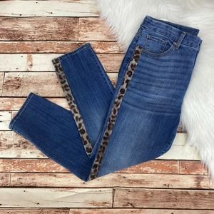 Chico's So Slimming Girlfriend Ankle Jeans 1/M/8